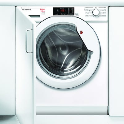 Hoover HBWD 8514D-80 Fully Integrated 8+5kg 1400 Spin Washer Dryer
