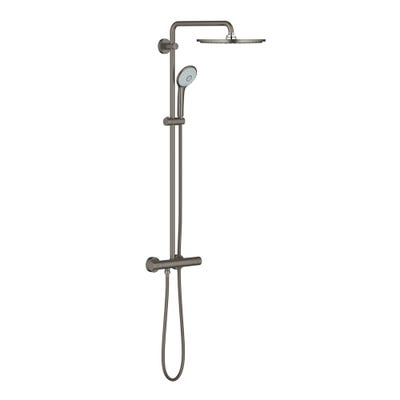 Grohe Euphoria 310 Thermostatic Shower System Brushed Hard Graphite