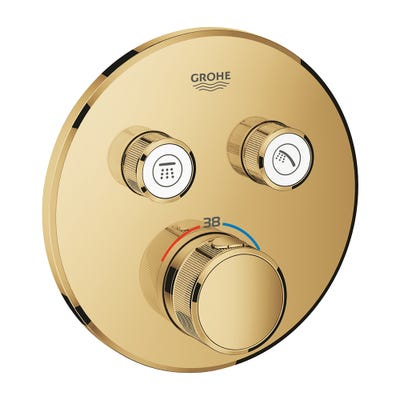 Grohe Grohtherm SmartControl 2 Way Thermostat Cool Sunrise