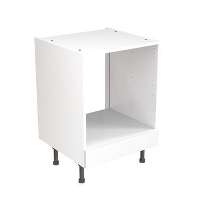 J-Pull Built Under Oven Housing Unit 600mm Gloss White