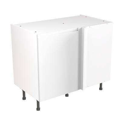 J-Pull Blind Corner Base Unit 1000mm Gloss White
