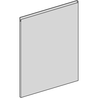 J-Pull Appliance Door 715mm x 596mm x 19mm Gloss White
