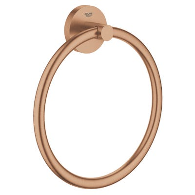 Grohe Essentials Towel Ring Brushed Warm Sunset