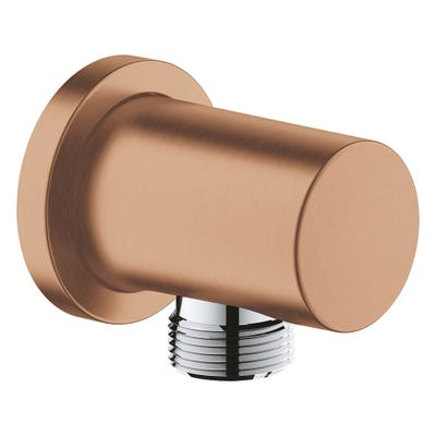 Grohe Rainshower Shower Outlet Elbow Brushed Warm Sunset