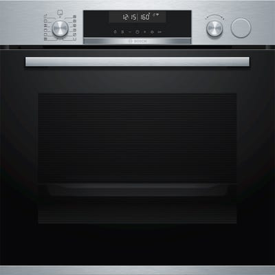 Bosch HRS538BS6B Serie 6 Single Oven With Steam Function