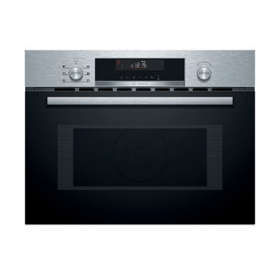 Bosch CMA585GS0B Serie 6 Built In Compact Microwave Combi Oven