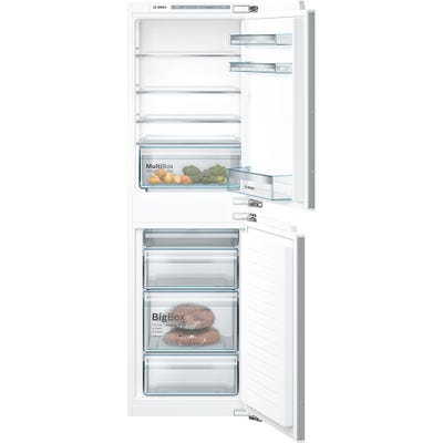Bosch KIV85VFF0G Serie 4 Low Frost Built In 50/50 Fridge Freezer