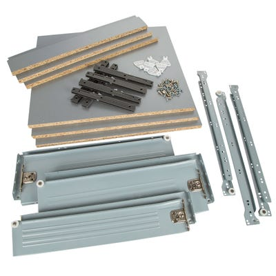 Ultrabox Kitchen Drawer Kit for 600mm Drawer Base Unit