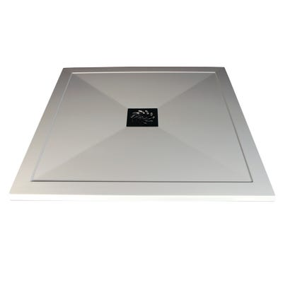 Reflexion 25mm Ultra-Slim 800mm x 800mm Square Tray & Waste