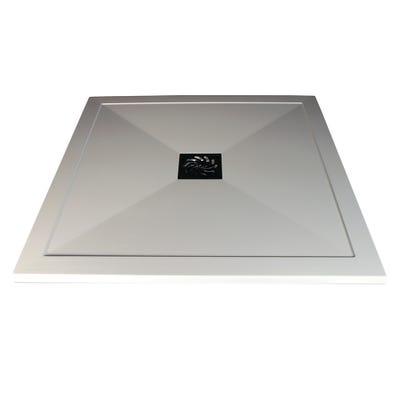 Reflexion 25mm Ultra-Slim 900mm x 900mm Square Tray & Waste