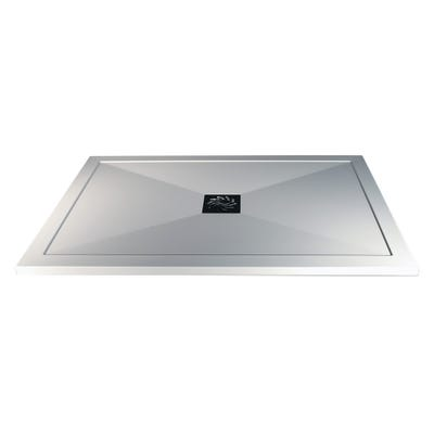 Reflexion 25mm Ultra-Slim 1000mm x 800mm Rectangular Tray & Waste