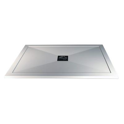Reflexion 25mm Ultra-Slim 1000mm x 900mm Rectangular Tray & Waste