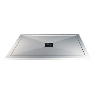 Reflexion 25mm Ultra-Slim 1200mm x 800mm Rectangular Tray & Waste