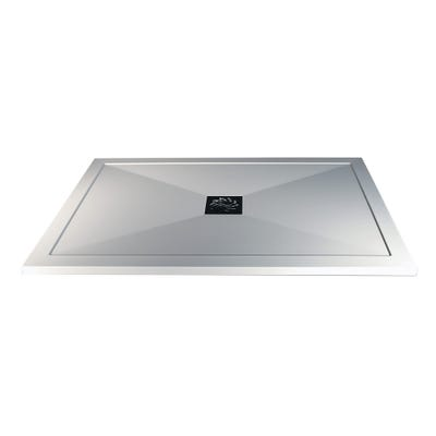 Reflexion 25mm Ultra-Slim 1400mm x 800mm Rectangular Tray & Waste
