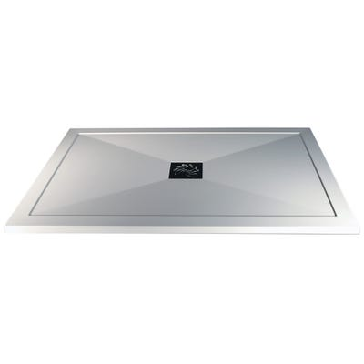 Reflexion 25mm Ultra-Slim 1600mm x 800mm Rectangular Tray & Waste