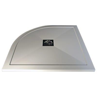 Reflexion 25mm Ultra-Slim 900mm x 900mm Quadrant Tray & Waste