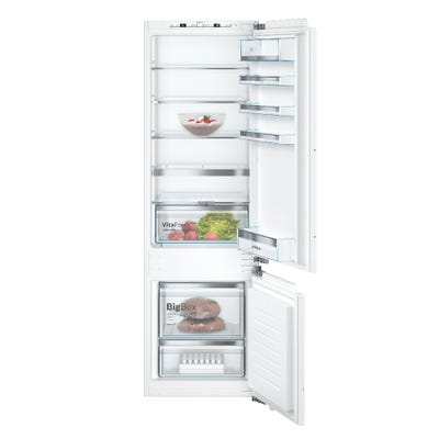 Bosch KIS87AFE0G Serie 6 Low Frost Built In 70/30 Fridge Freezer