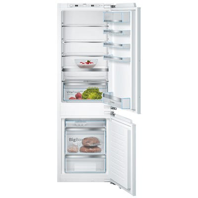 Bosch KIS86AFE0G Serie 6 Low Frost Built In 60/40 Fridge Freezer