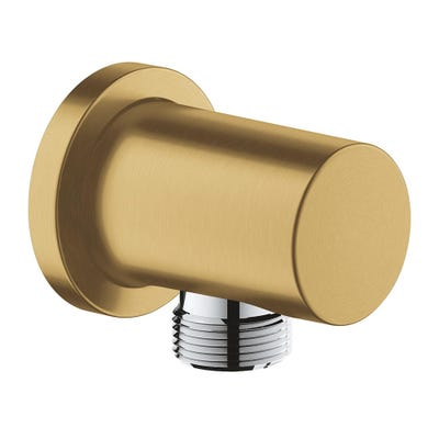 Grohe Rainshower Shower Outlet Elbow Brushed Cool Sunrise
