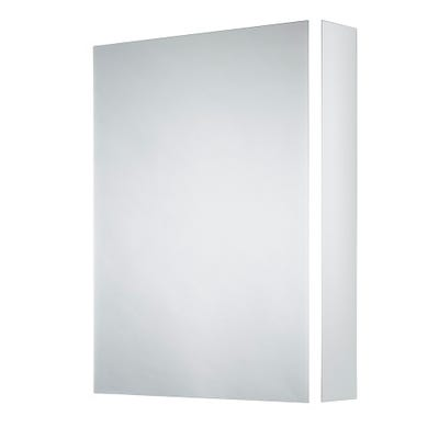 Sensio Ainsley Single Door Illuminated Led Mirror Cabinet