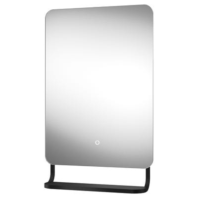 Sensio Harbour Illuminated Bathroom Mirror C/W Hanging Shelf