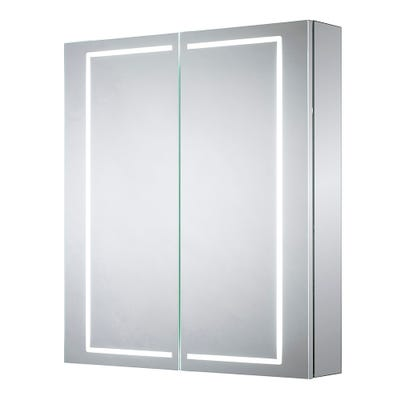 Sensio Sonnet Double Door Illuminated Led Mirror Cabinet