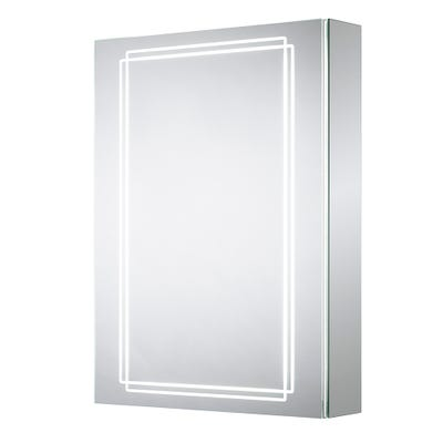 Sensio Harlow Single Door Illuminated Led Mirror Cabinet