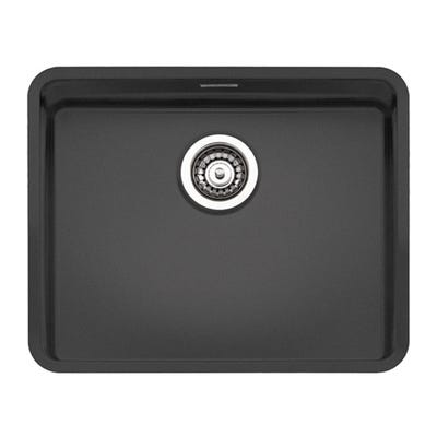 Reginox Ohio 50 x 40 Sink Black Steel