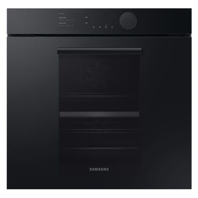 Samsung Infinite NV75T9579CD/EU Dual Cook Pyrolytic Oven - Matt Graphite Grey