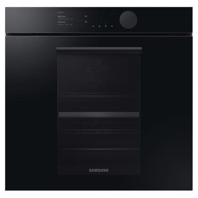 Samsung Infinite NV75T8579RK/EU Dual Cook Pyrolytic Oven - Onyx Black
