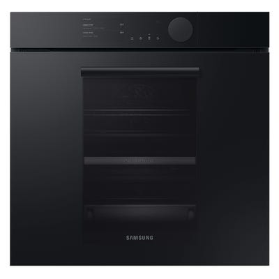 Samsung Infinite NV75T9979CD/EU Full Steam Dual Cook Pyrolytic Oven - Matt Graphite Grey