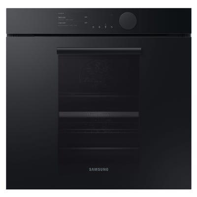 Samsung Infinite NV75T9879CD/EU Steam Assist Dual Cook Pyrolytic Oven - Matt Graphite Grey