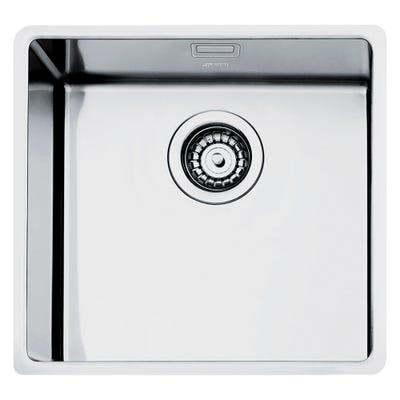 Smeg VFU50SFR Mira 1.0 Bowl Inset/ Under-mount Sink 500mm Stainless Steel