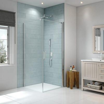 Merlyn 8 Series 900mm Side Panel For Frameless Pivot Door