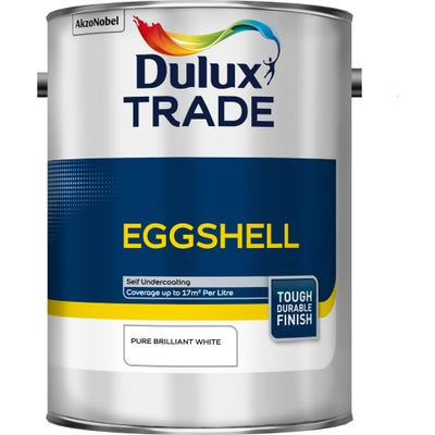 Dulux Trade Eggshell Pure Brilliant White