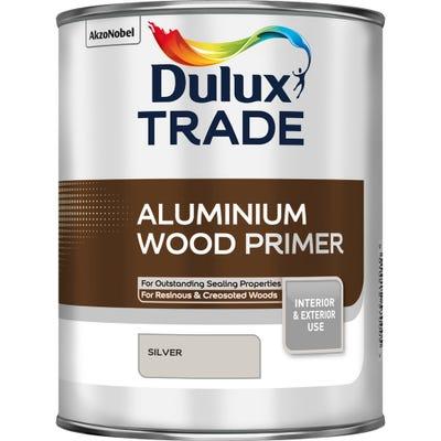 Dulux Trade Aluminium Wood Primer Silver 1L