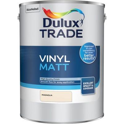 Dulux Trade Vinyl Matt Magnolia 5L