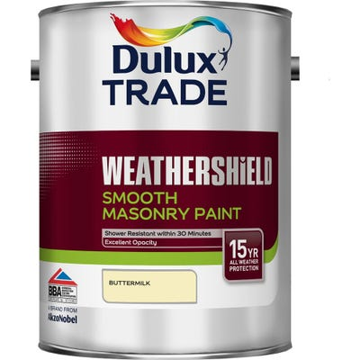 Dulux Trade Weathershield Smooth Masonry Coloured 5L