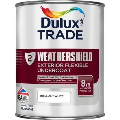 Dulux Trade Weathershield Exterior Flexible Undercoat Brilliant White