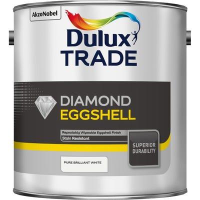 Dulux Trade Diamond Eggshell Pure Brilliant White