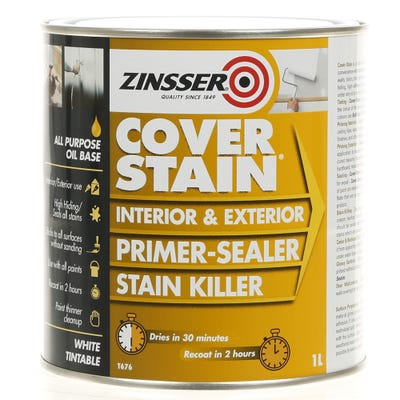 Zinsser Cover-Stain Interior & Exterior Sealer & Stain Killer White