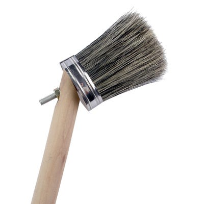 ProDec 2'' Striker Brush With 24'' Wooden Handle