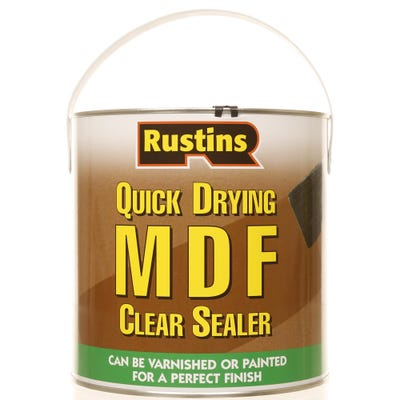 Rustins Quick Drying MDF Clear Sealer 2.5L