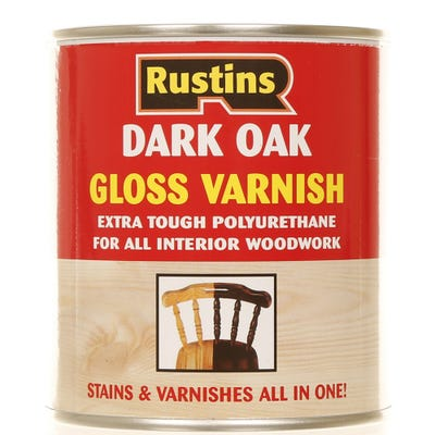 Rustins Polyurethane Varnish Gloss 500ml