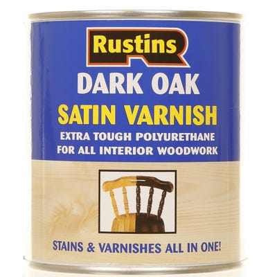 Rustins Polyurethane Varnish Satin 500ml