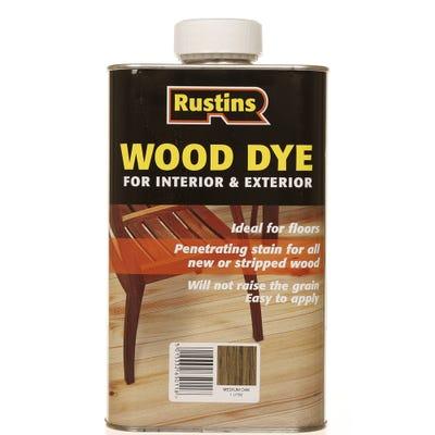 Rustins Medium Oak Internal & External Wood Dye