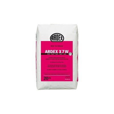 Ardex X7 White Wall and Floor Tile Adhesive 20Kg