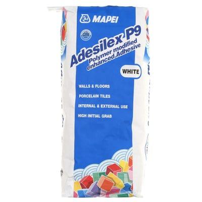 Mapei Adesilex P9 White Porcelain Adhesive 20Kg