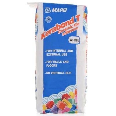 Mapei Kerabond T White Ceramic Tile Adhesive 20Kg