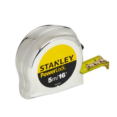 Stanley Micro Powerlock Tape Measure 5m 16ft